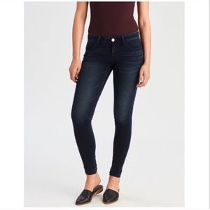 AEO Super Low Rise Jeggings